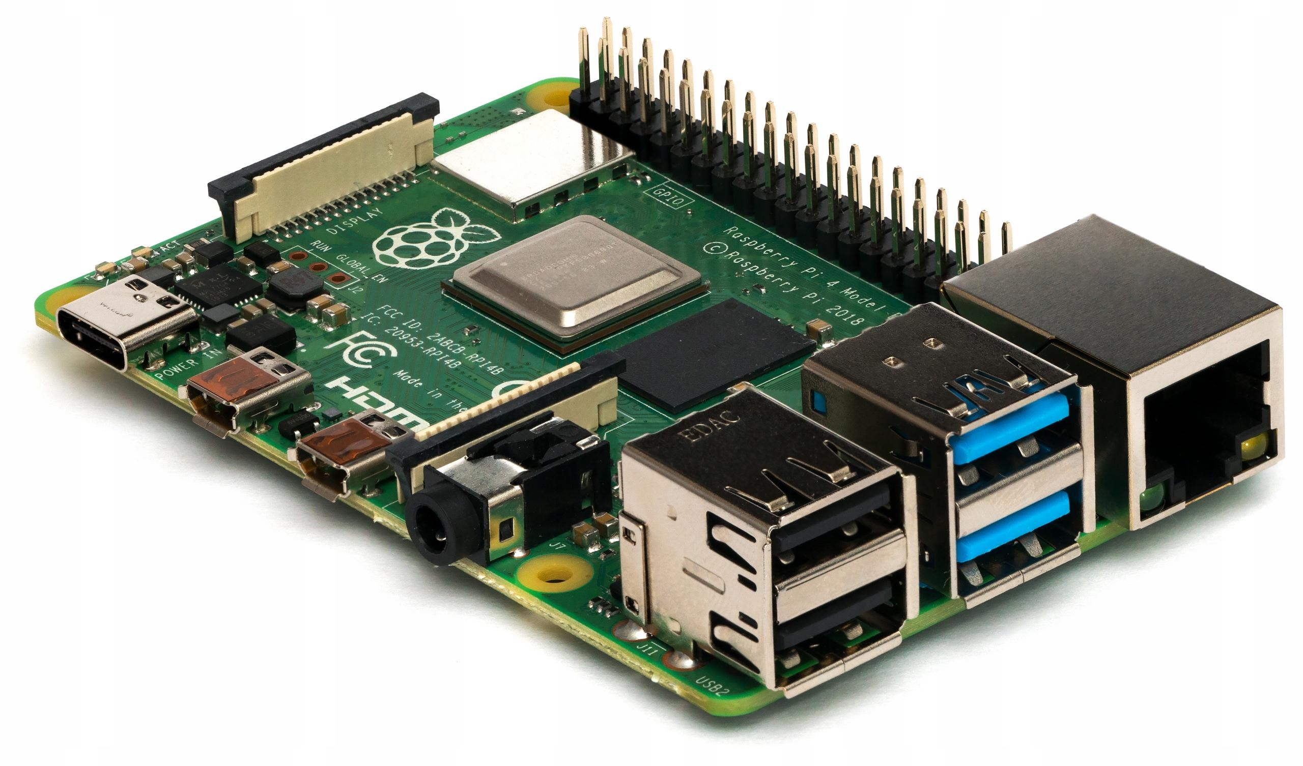 Купить Raspberry Pi 4 4 гб ОПЕРАТИВНОЙ памяти wi-fi + РАДИАТОРЫ Алюминий 4 шт. на Otpravka - цены и фото - доставка из Польши и стран Европы в Украину.