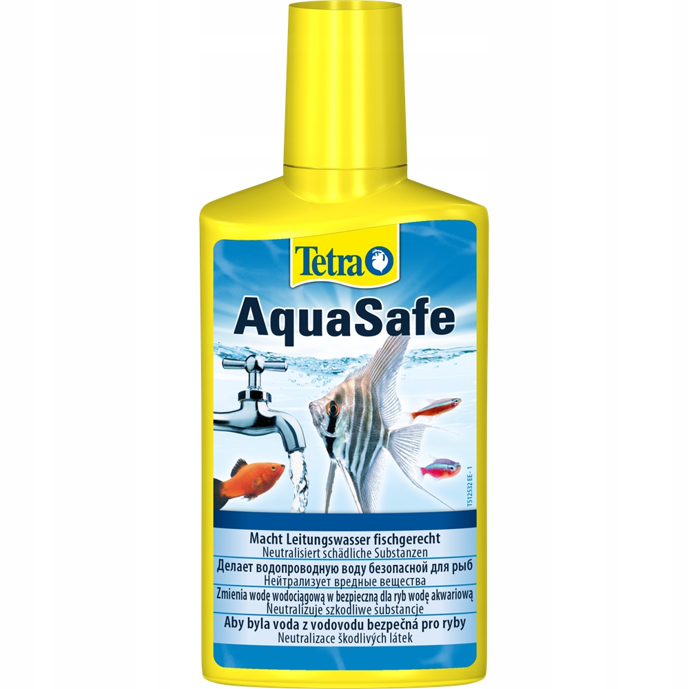 TETRA AQUASAFE 500ML Preparat Do Uzdatniania Wody