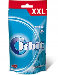 Žuvačky ORBIT PEPPERMINT VAK XXL 15 Ks