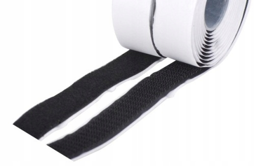 Item VELCRO TAPE WITH GLUE, self-ADHESIVE 20 mm SET