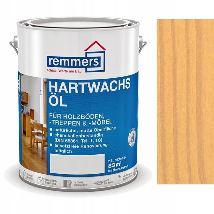 Hartwachs-Ol REMMERS 2.5 l HEMLOK