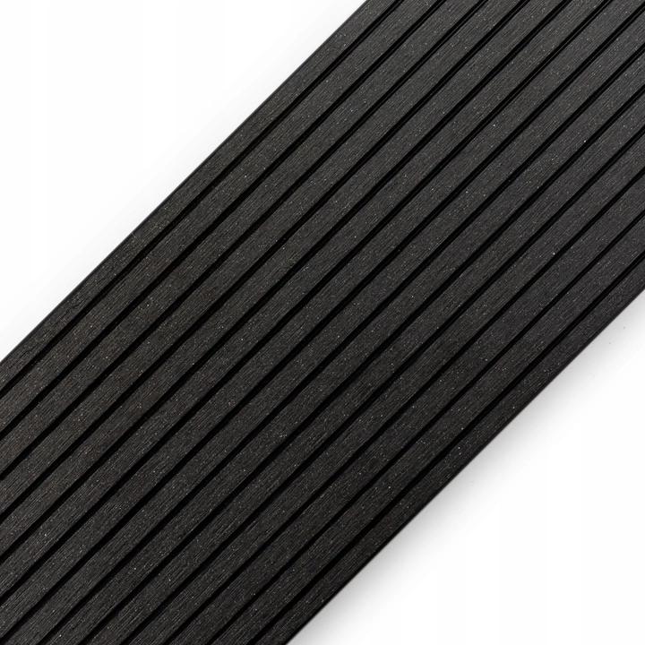 Deska tarasowa kompozytowa 150x25 antracyt do 4m