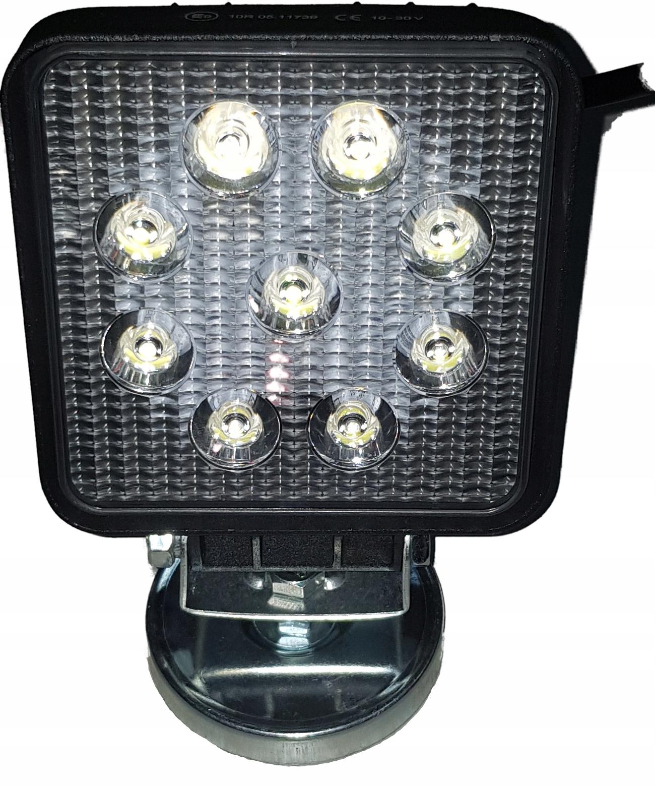 Лампа Фары LED прожектор 2200lm на магнит