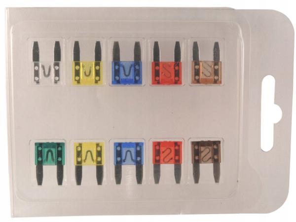 комплект предохранителей minival мини 11mm 10 штук
