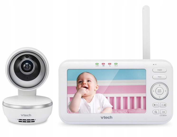 Vtech Niania Elektroniczna Kamera Dect LCD vm5261