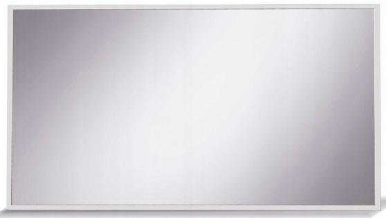 Zrkadlo 100 cm moderný biely Mat systému X10