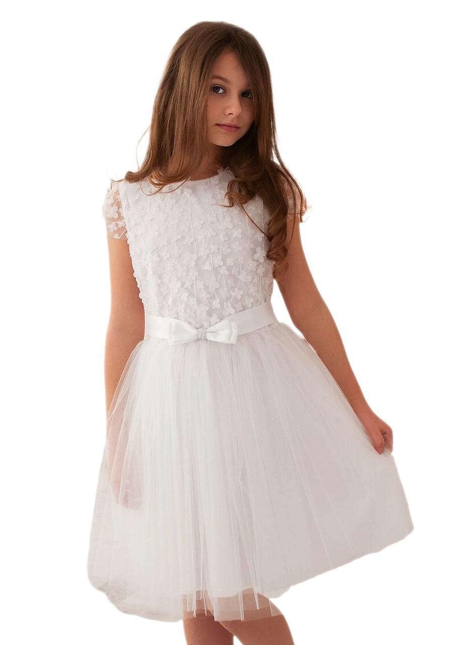 Платье с цветами -