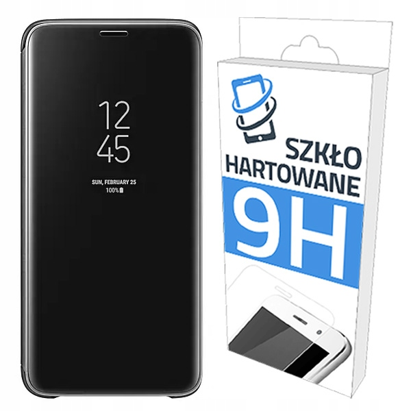 Etui Clear View Case + Szkło Huawei Honor 10 Lite