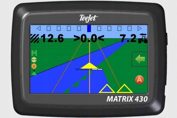 Nawigacja rolnicza GPS - MATRIX 430 - antena RXA30 - TeeJet 7