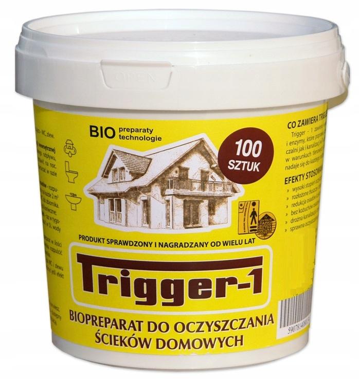 TRIGGER-1-100. čistiarne odpadových vôd fekálneho odpadu vody