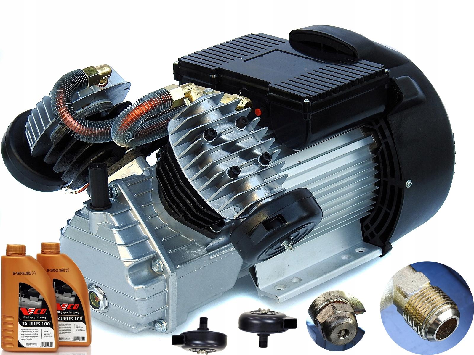 SPRĘŻARKA Zs41 kompresor olejowy pompa V2+SILNIK