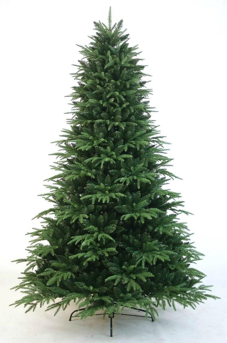 Vianočný stromček CHROM PE PE PREMIUM hrubý max. 300 cm