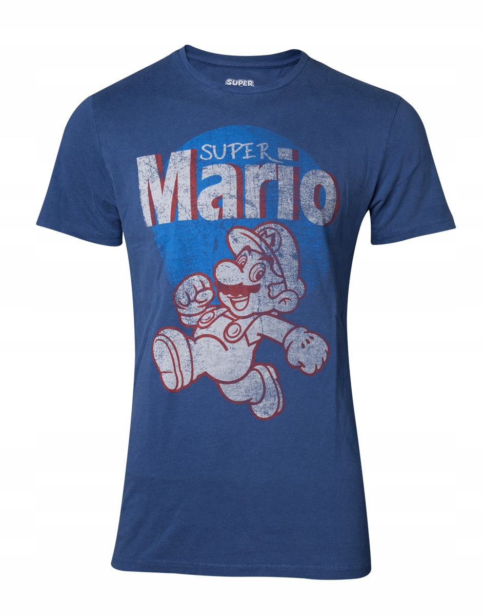 Pánske t-shirt Nintendo Super Mario Vintage L