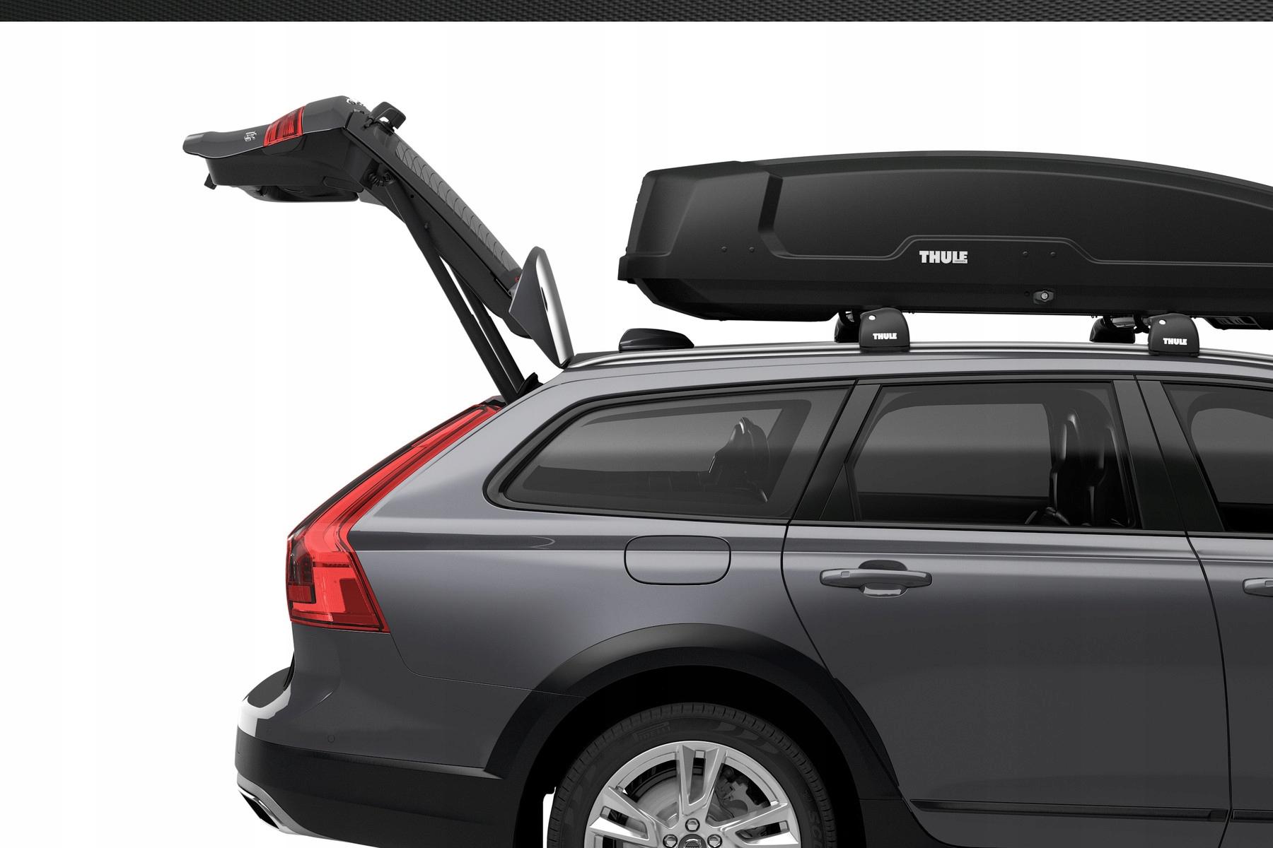 Bagażnik na dach BOKS KUFER THULE FORCE XT SPORT Wysokość produktu 42.5 cm