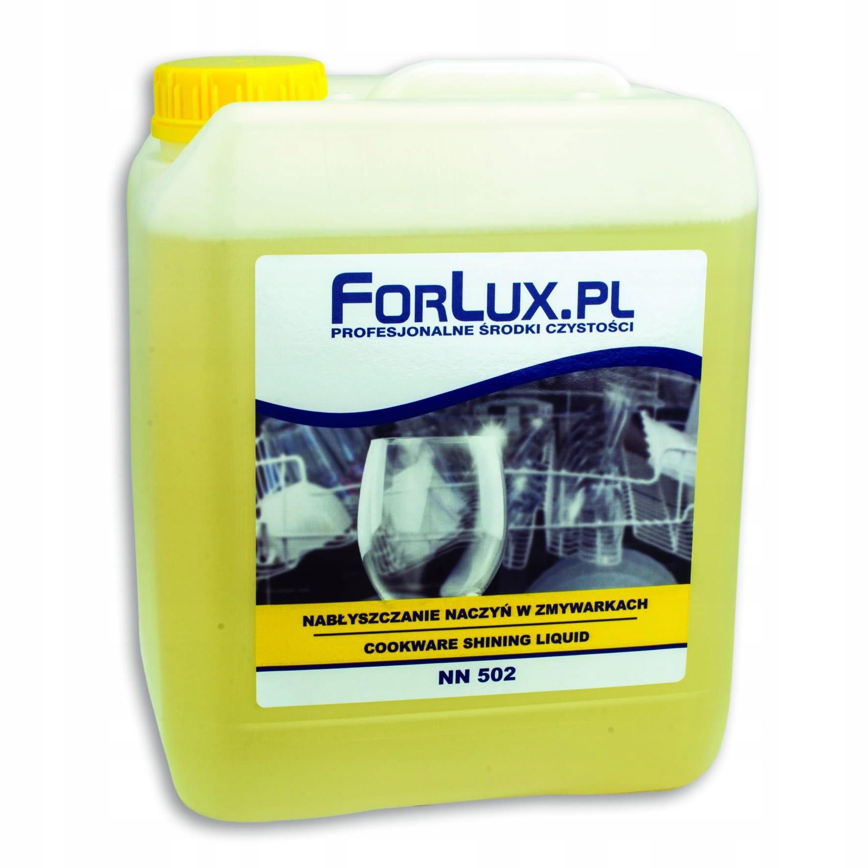 Nabłyszczacz naczyń w zmywarkach 5 L Forlux NN 502