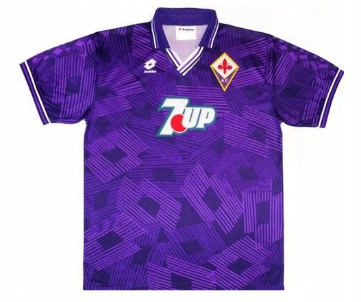 T-tričko LOTTO ACF FIORENTINA 1993/1993 RETRO roka. S