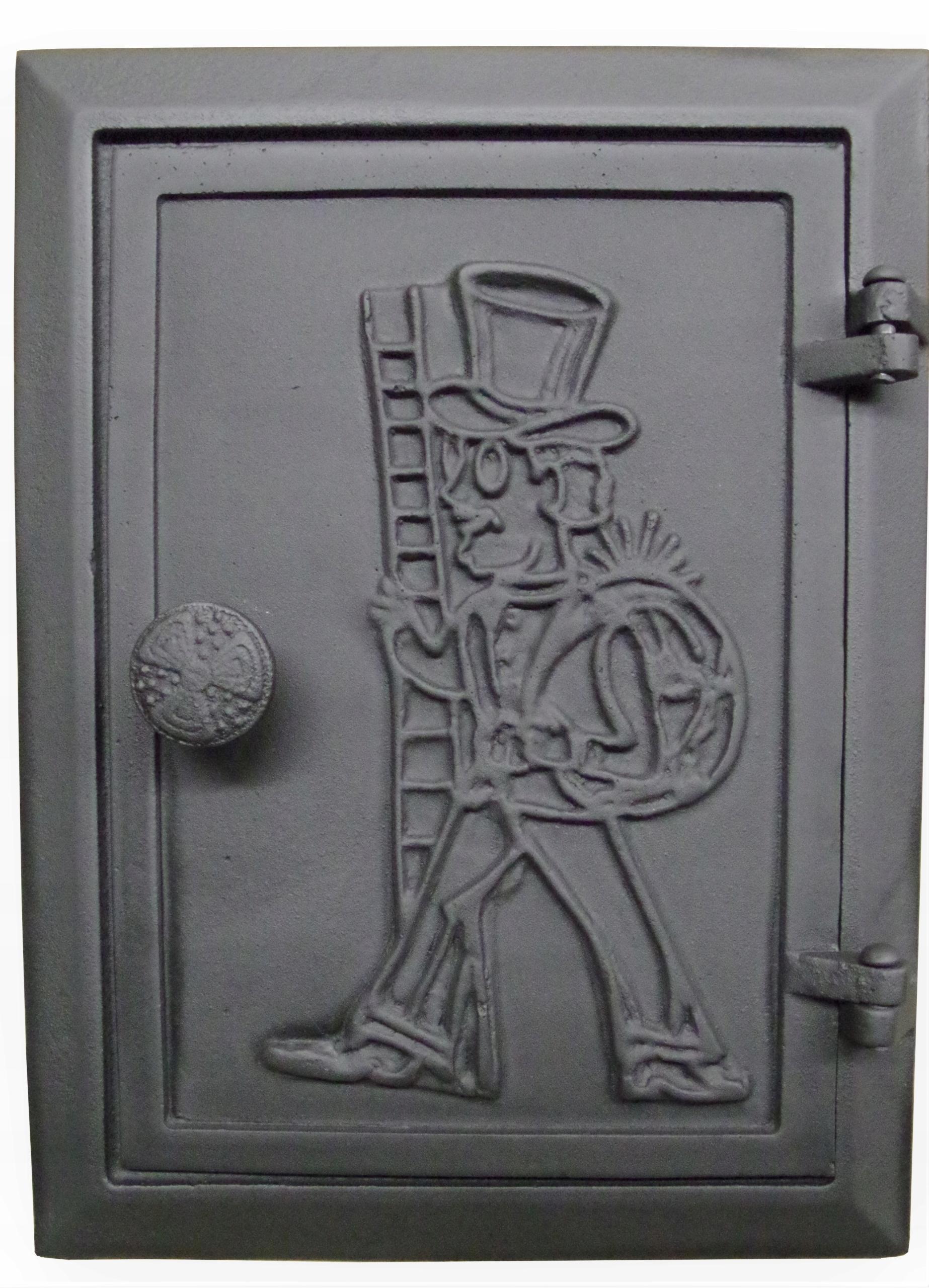 Дверцы чугунные каминные wyciorowe ревизионные
