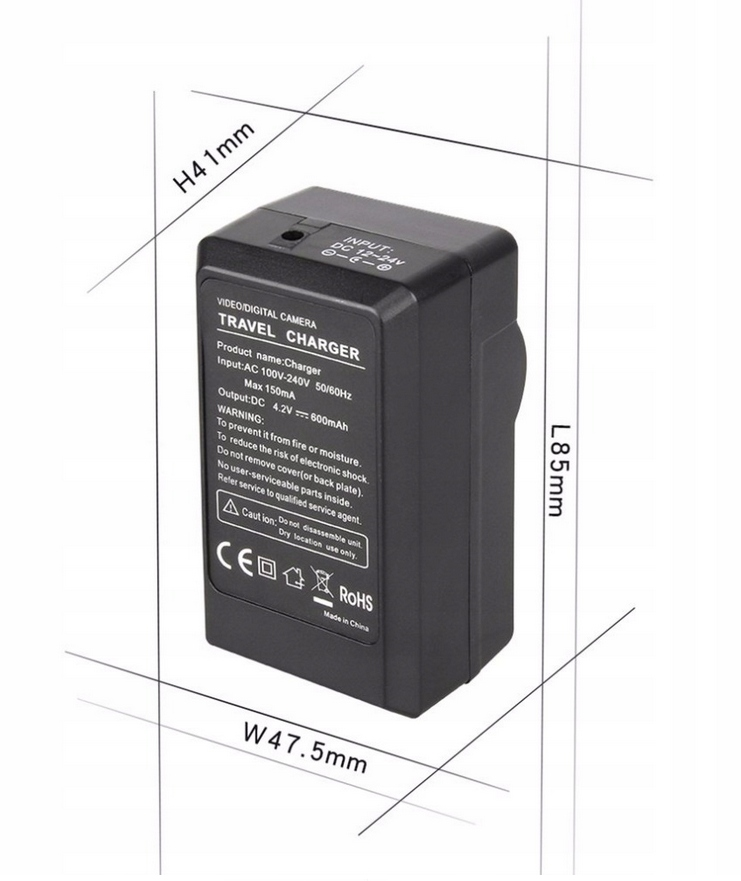 Купить ЗАРЯДНОЕ УСТРОЙСТВО CANON LP-E12 LPE12 EOS-M 100D на Otpravka - цены и фото - доставка из Польши и стран Европы в Украину.