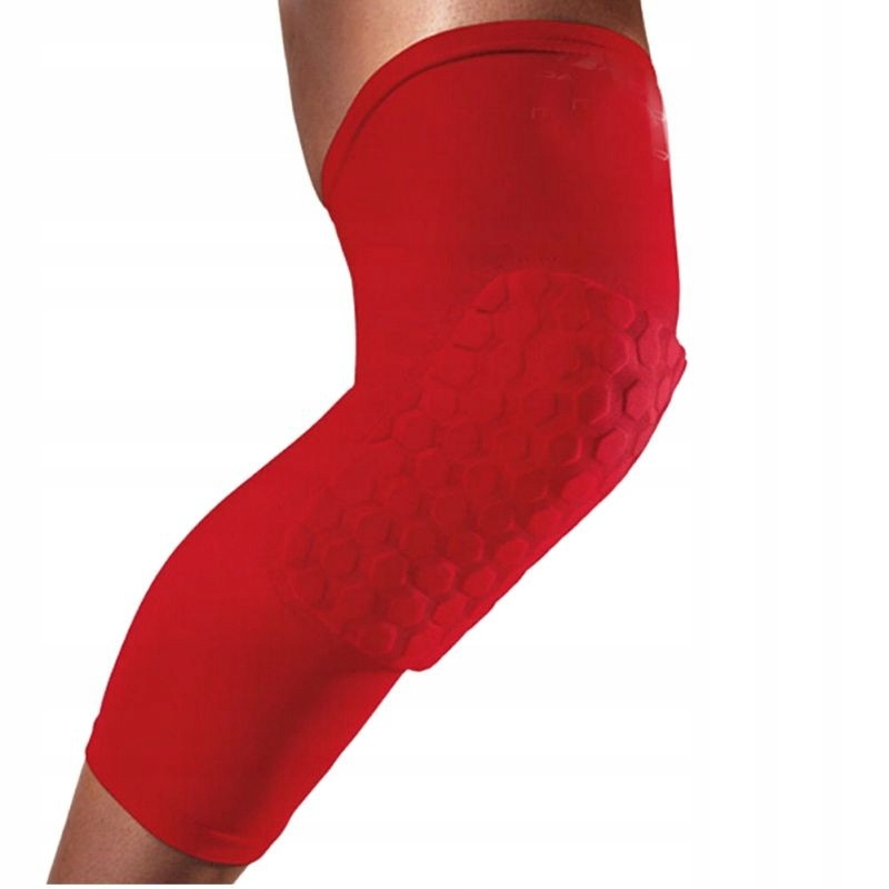 Защитаe на коленный M L XL красные от руки!!!