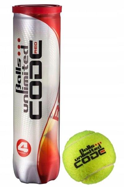 Tenis gule Gule Neobmedzený Kód Červená 1 box