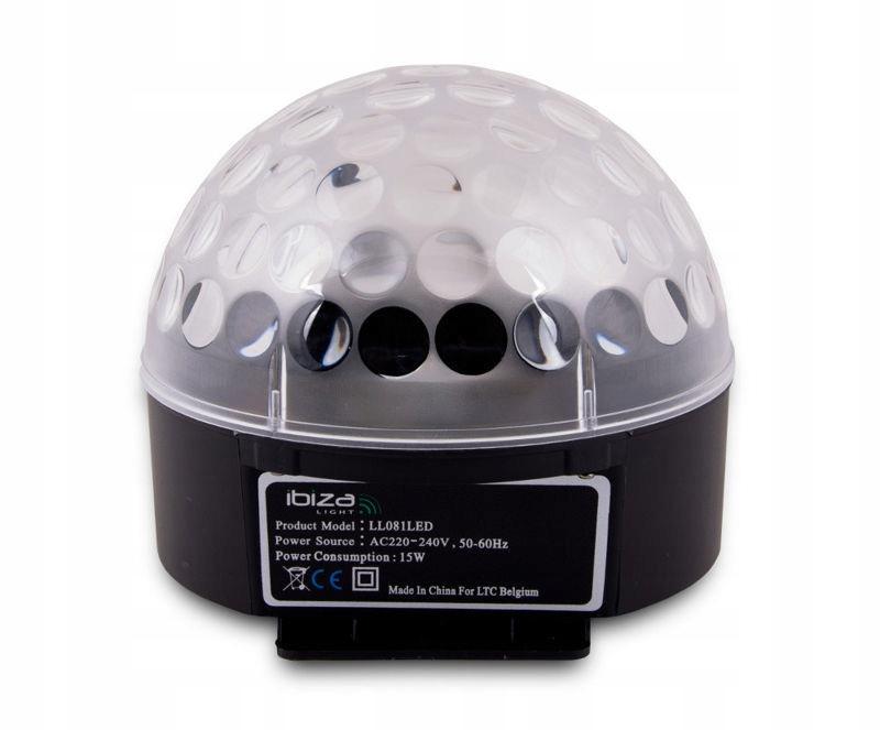 Silná disco Ball Ibiza Astro1 GW.3L