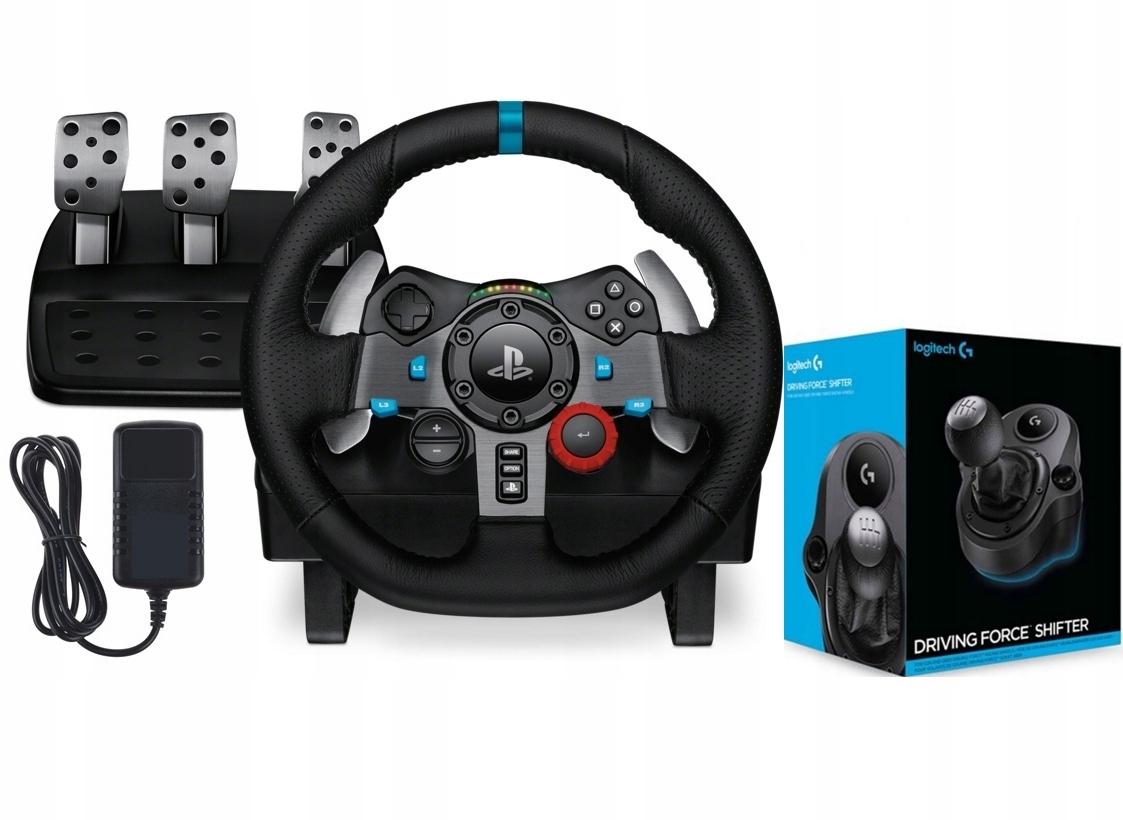 Kierownica Logitech DrivingForce G29 PS4 PC +BIEGI 9358368341 - Sklep internetowy AGD, RTV, telefony, laptopy - Allegro.pl