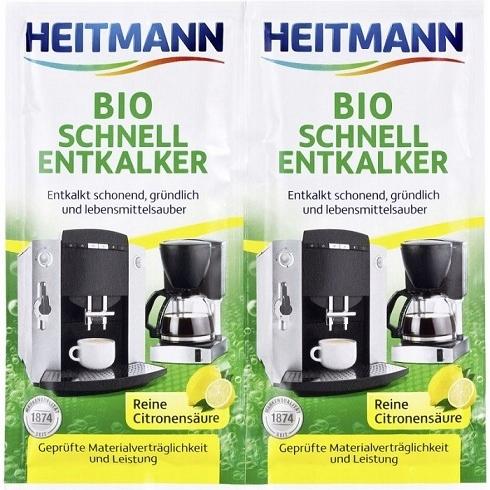 Хайтманна Bio Быстрый для удаления накипи Чайников 2x15 ДЕ