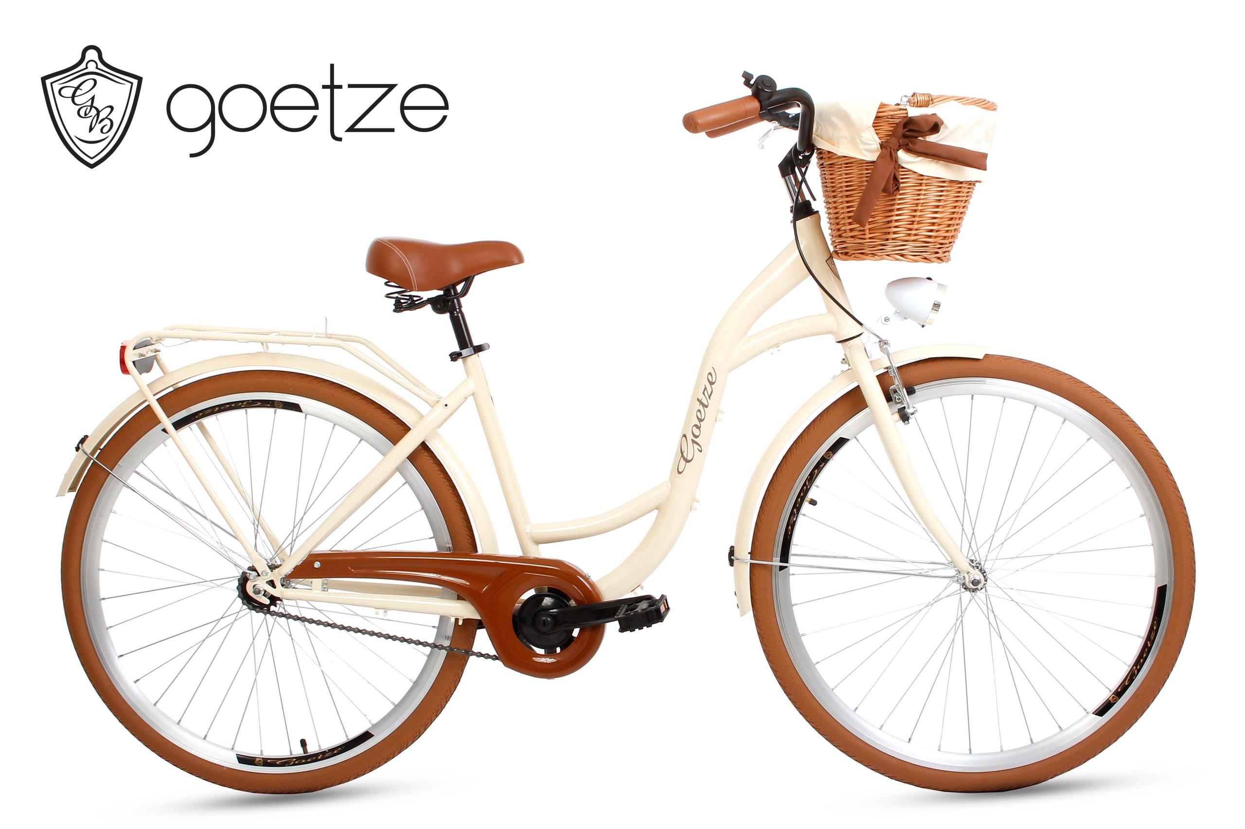 Ženské city Bike Goetze Štýl LTD 28 kôš
