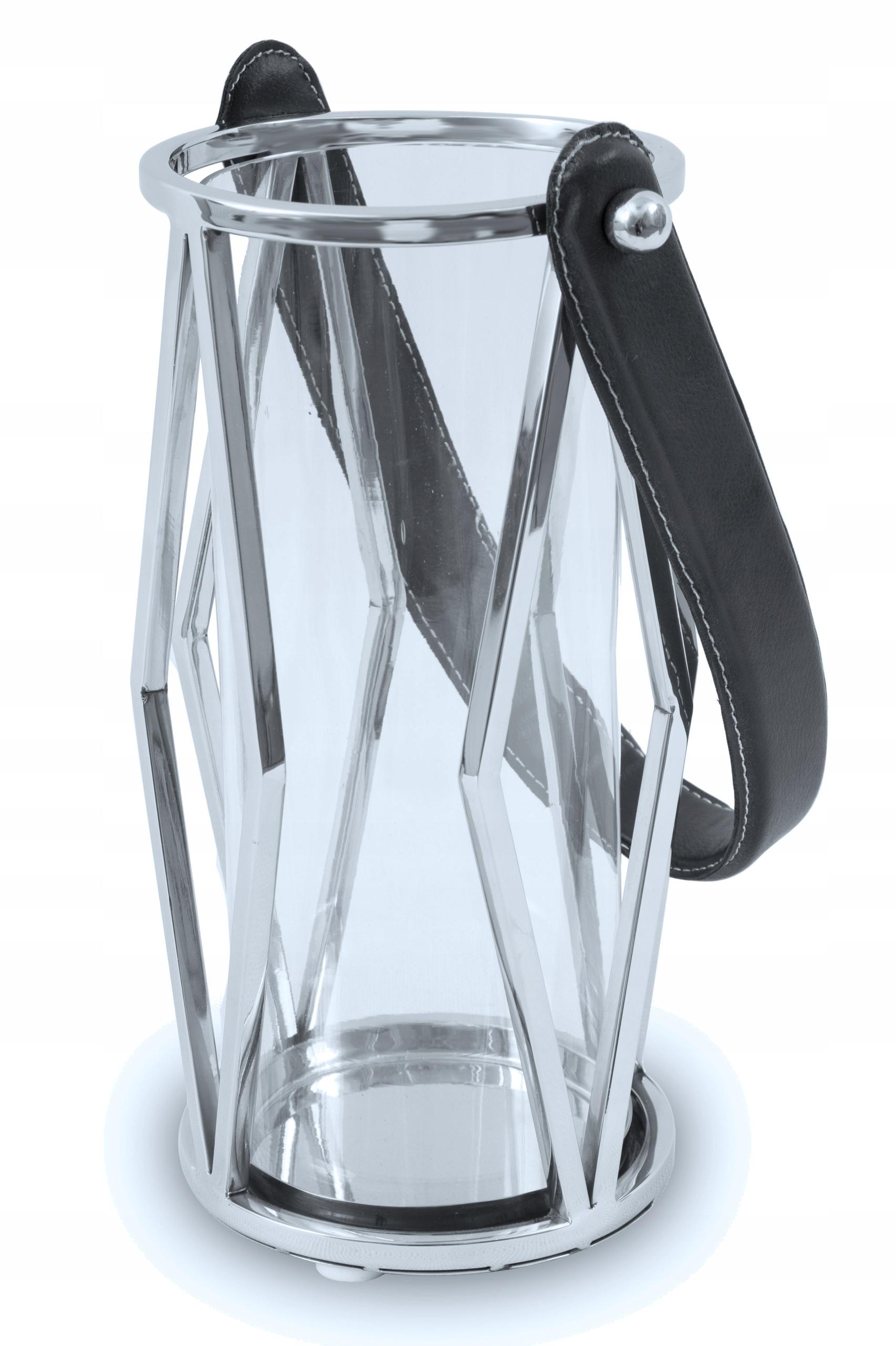 Kovová baterka, Vintage-style dekoratívne sklo