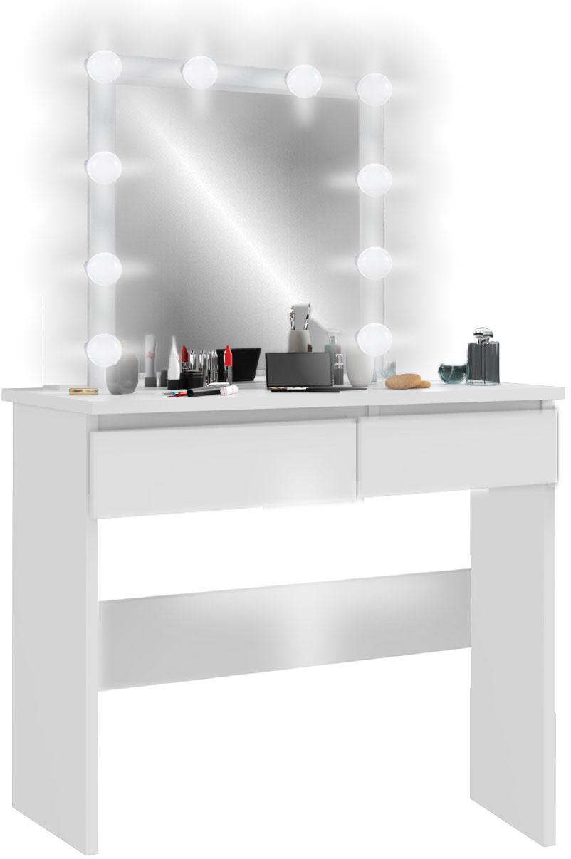 ТУАЛЕТНЫЙ столик и КОСМЕТИЧЕСКОЕ белая освещение LED