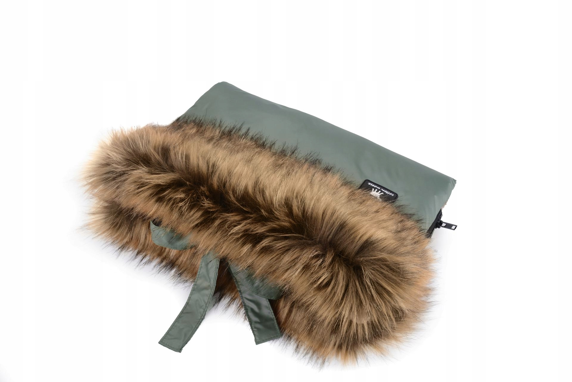 COTTONMOOSE MUFKA S MOOSE JUNGLE GREEN FUR