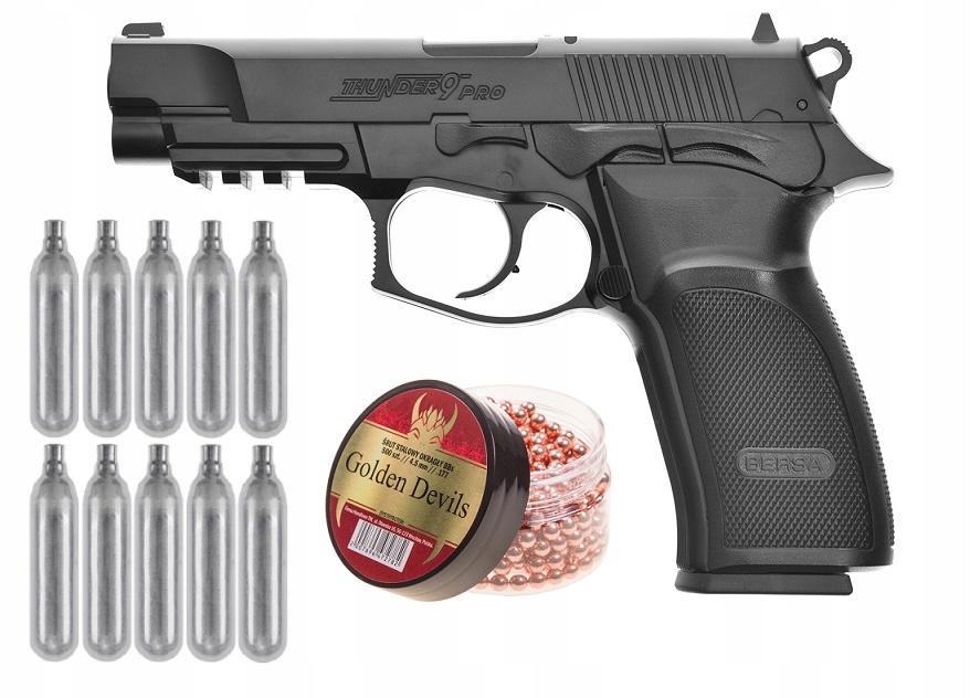 Пневматическая винтовка Bersa Thunder 9 PRO BB + CO2 SET