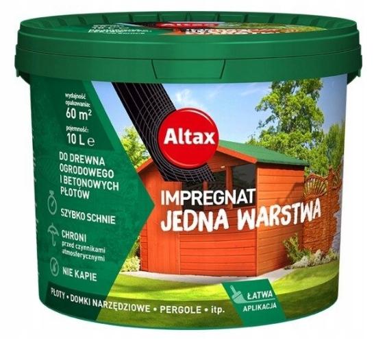 Altax Пропитка для дерева ogrodowego10L Палисандр