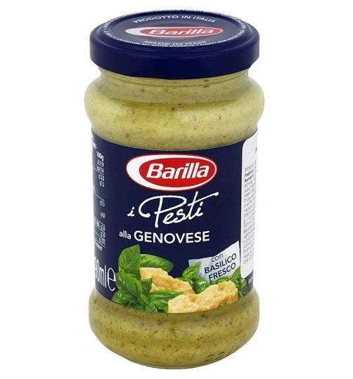 Barilla соус для пасты песто алла Дженовезе 190 гр