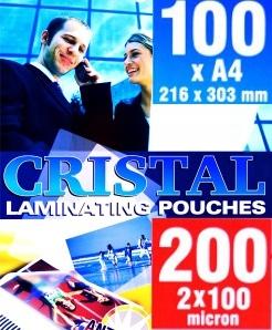FOLIA DO LAMINOWANIA A4 ARGO CRISTAL 100mic 100szt