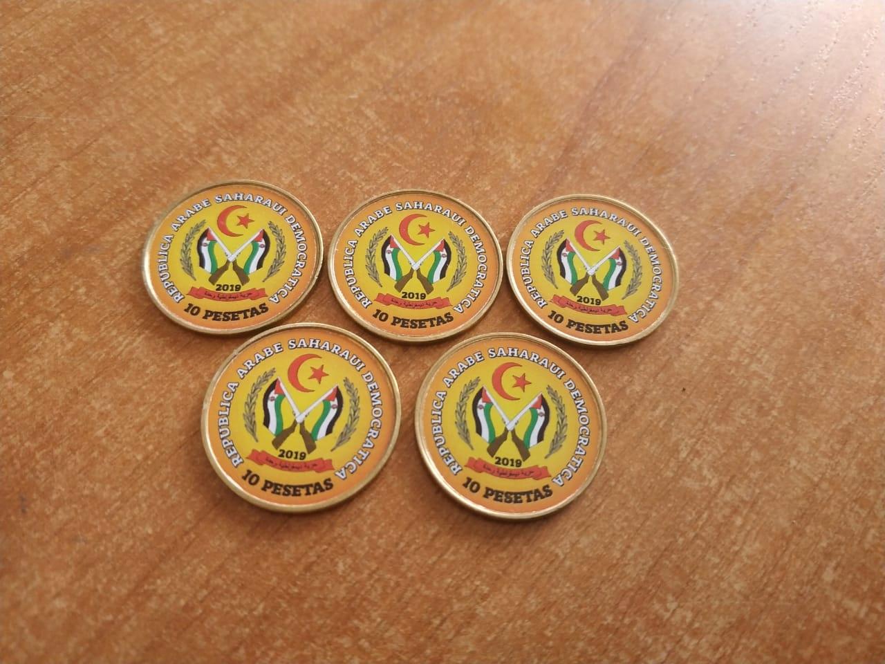Купить САХАРАВИ САХАРА ЗАПАД, набор из 5 монет с орлом на Otpravka - цены и фото - доставка из Польши и стран Европы в Украину.