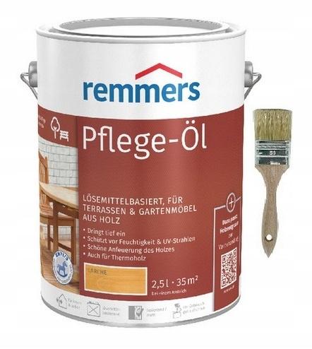 Remmers PFLEGE-OL масло для древесины 2,5 Л ЦВЕТОВ 24 часа