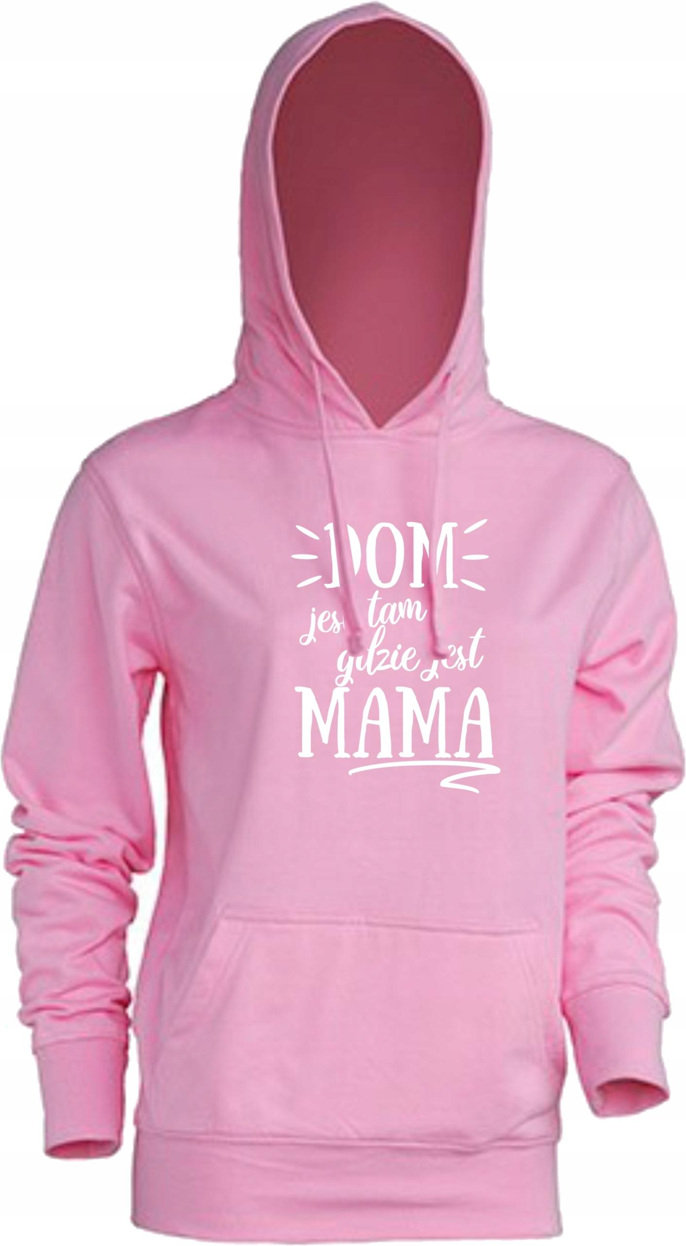 Bluza damska na Dzień Mamy Dom jest tam gdzie Mama