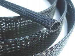Оплетка для кабелей оплетка для проводов ПА 4-9 мм ЧЕРНЫЙ