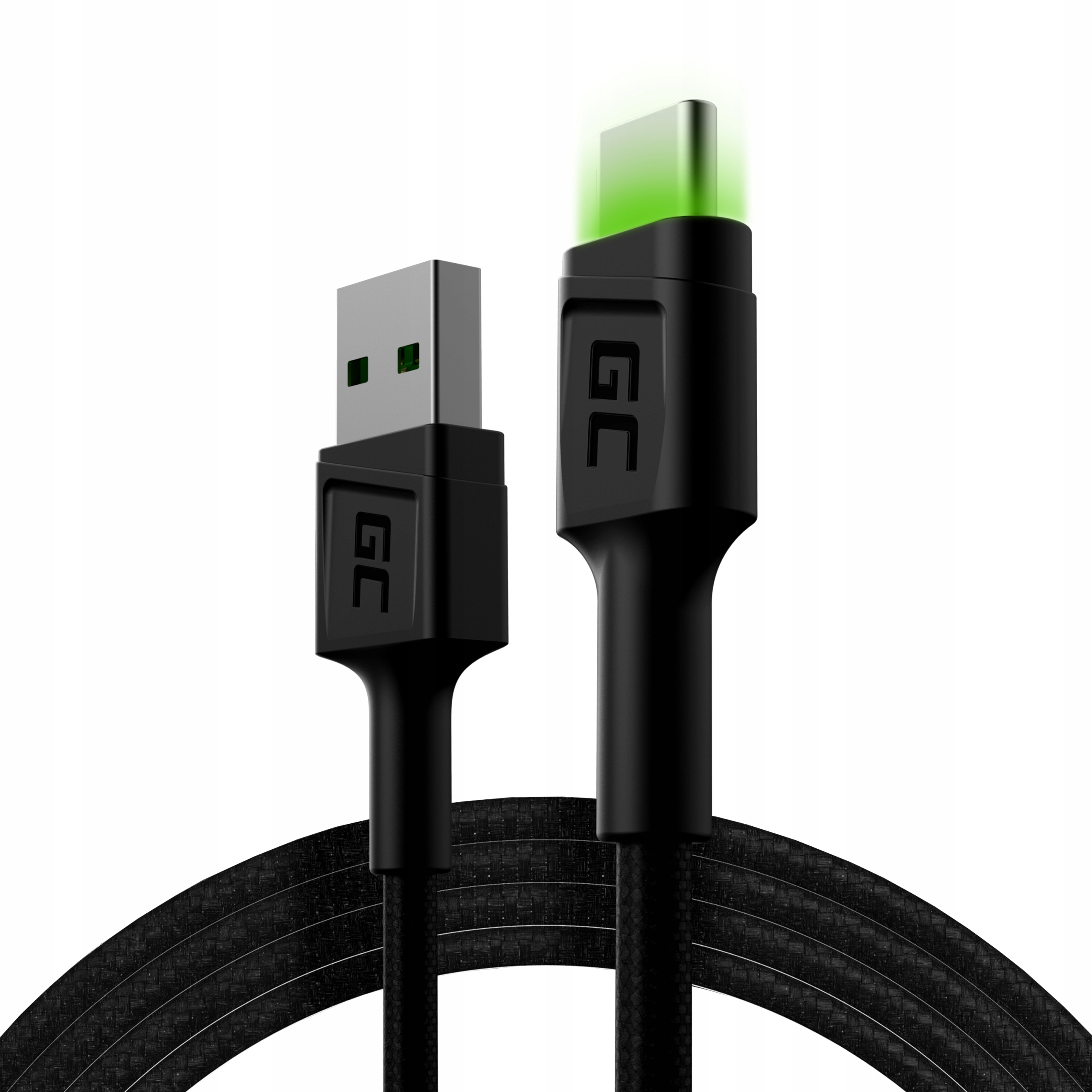 Kabel Green Cell Gc Ray Led 1,2m Usb - Type Usb-c