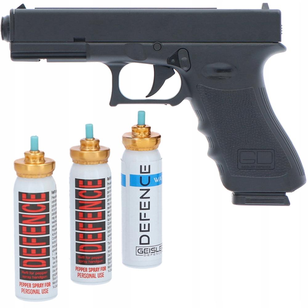 PLYNOVÁ zbraň OBRANY GD17 RMG + pepřový SPREJ