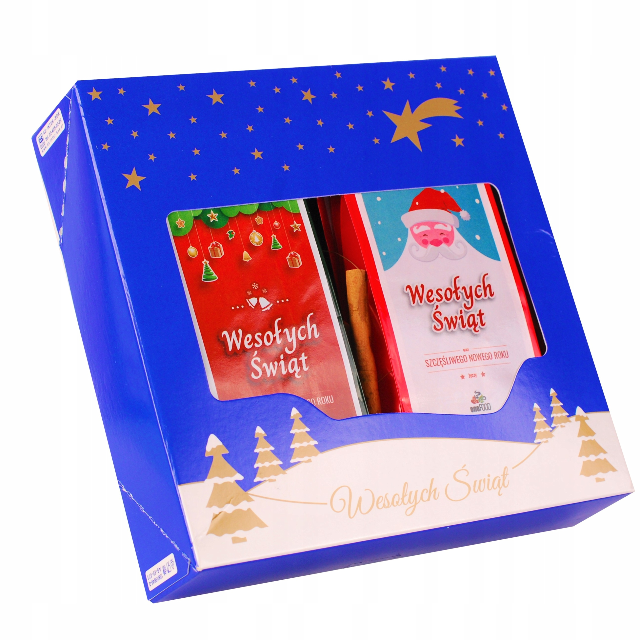 Item Set with gifts - 4x Tea at CHRISTMAS - BOX