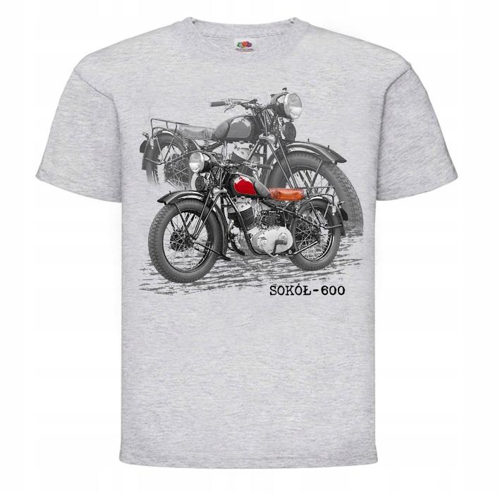 FALCON 600 MOTOR RETRO T-SHIRT ZBERATEĽSKÚ