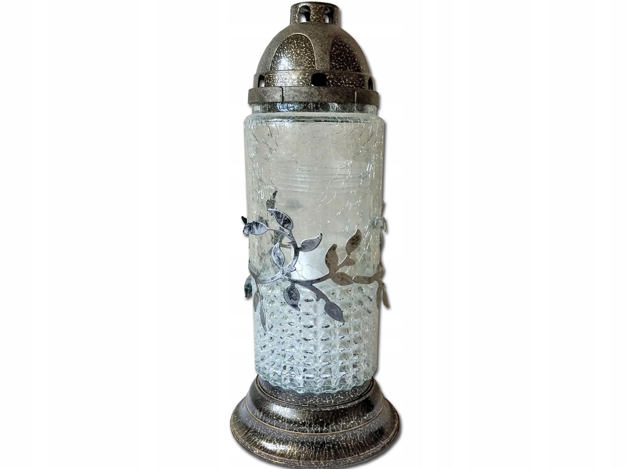 Znicz Znicze Lampion Rura Mrożona Wkład 8859371914 Allegro Pl