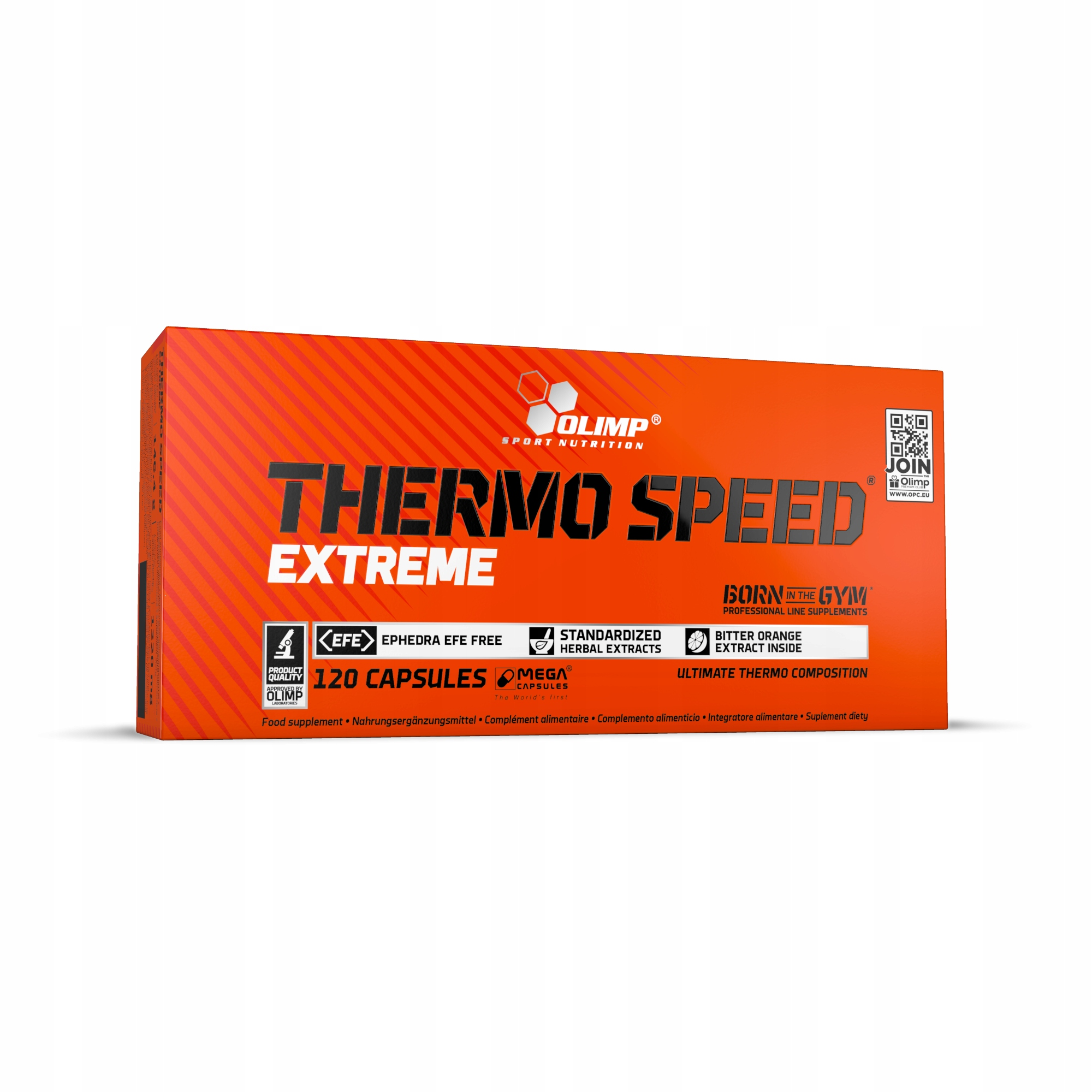 OLIMP Thermo Speed Extreme 120kaps MOCNY SPALACZ