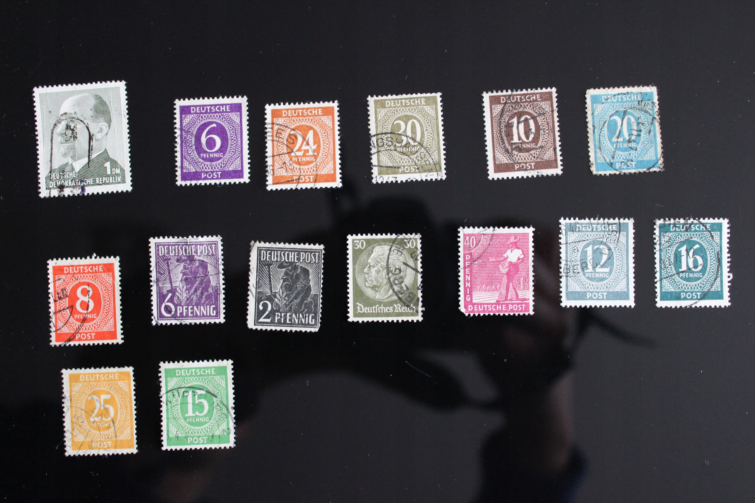 znaczki pocztowe Niemcy 15 szt