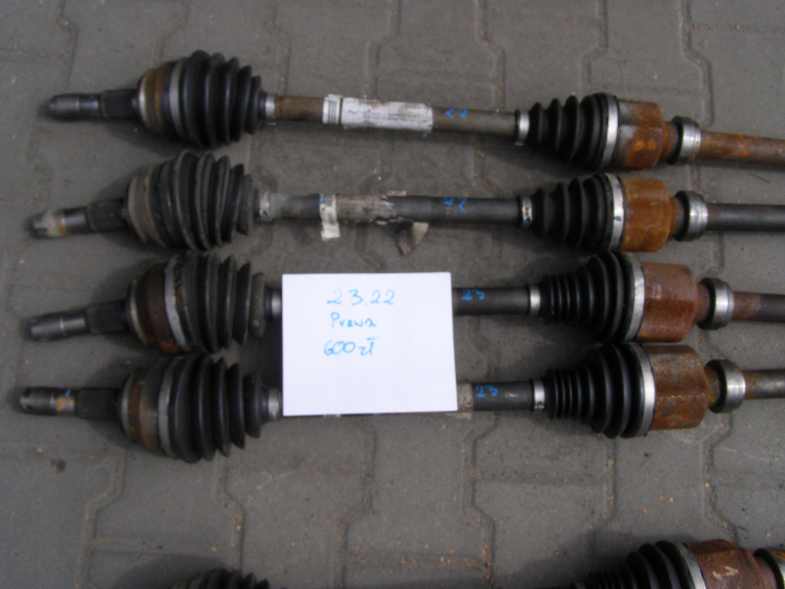 ПОЛУОСЬ 2.2 2.3 DUCATO BOXER JUMPER ПОЛУОСЬKA 06 -19 R