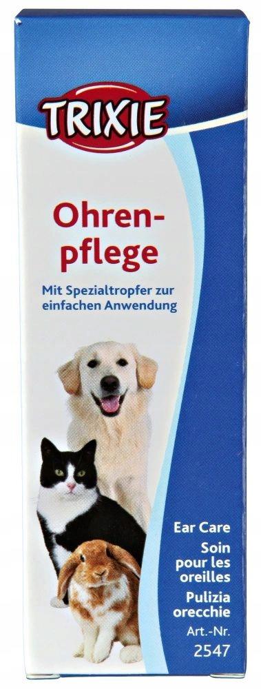 TRIXIE Płyn do czyszczenia mycia uszu dla psa kota