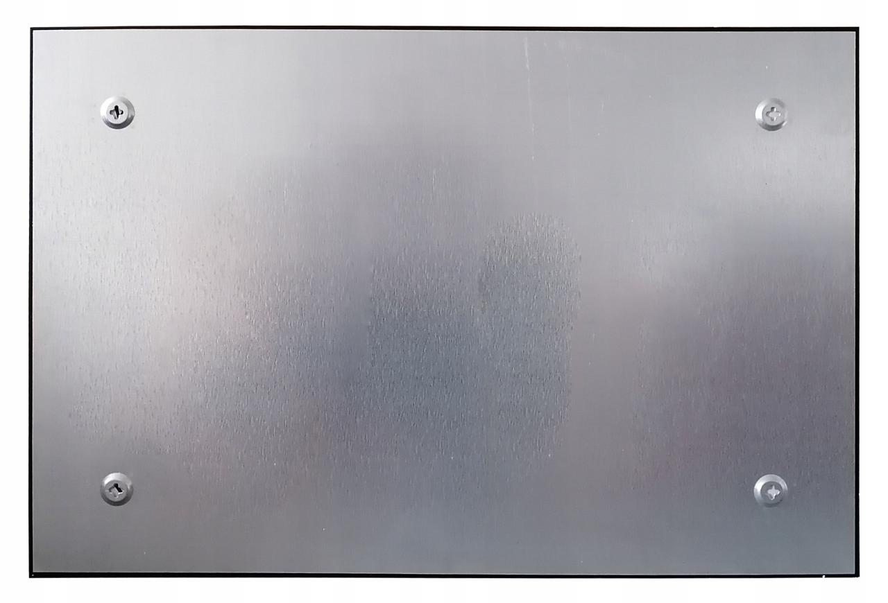 Magnetická sklenená tabuľa ČIERNA 90x60 + ZDARMA Hmotnosť produktu s samostatným balením 8 kg