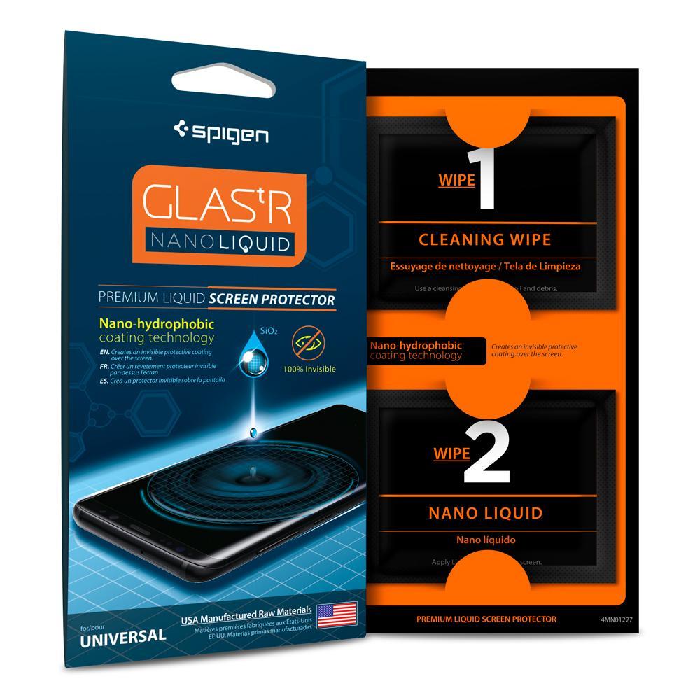 Spigen Nano Liquid Foil / Glass / Жидкое стекло 9H